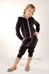 Изысканный велюровый костюм от тм Little Winners, 104, 110, 116 - распродаж