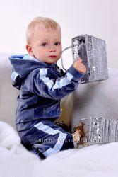 Ликвидация склада - эффектный велюрик для малыша от тм Little Winners, р. 74