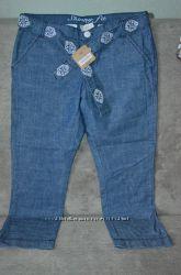 Капри CRAZY8 из легкого джинса, р. 14 лет, новые, недорого