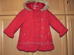 Удлиненная демисезонная куртка Marks&Spenser 1, 5-2 года