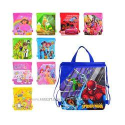 Зонты, сумочки, рюкзаки, шарики, браслеты