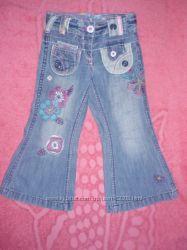 Модные джинсики на девочку 2-3 года