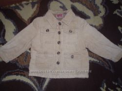 Стильный вельветовый пиджачек на 2-3г.