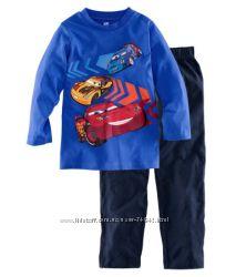 Теплые пижамки для мальчиков и девочек с диснеевским героями