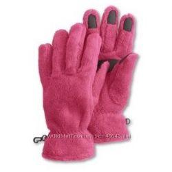 флисовые перчатки и шарф LANDSEND