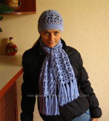 распродажа шапок, шарфов и комплектов