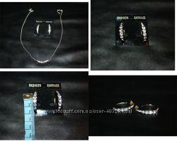 Распродажа бижутерии кольца, серьги,  браслеты и др. Очень приятные цены