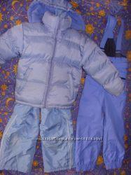 Теплющая куртка и полукомбинезон к ней