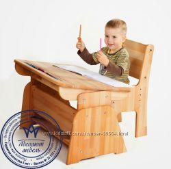 Распродажа- Парта  Школярик 90 см и стул. Доставка бесплатно