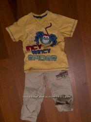 Брючки - капры Некст  и футболка