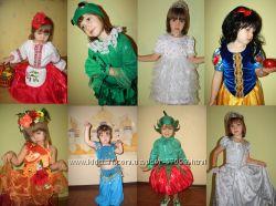 Новогодние костюмы для девочек и мальчиков, Карнавальные,  Только ПРОКАТ