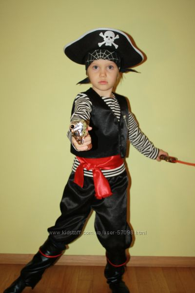 Костюм разбойника для мальчика сделать своими руками