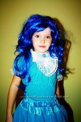 Новогодний карнавальный костюм Кукла Мальвина. Только прокат