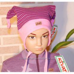 KIVAT весна- лето демисезон стильные шапки для девочки.