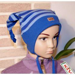 KIVAT  весна-осень, деми хлопковые шапки мальчику. Новинки по низким ценам.