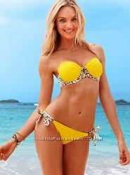 Купальник Victorias Secret Yellow push-up солнечный сахар 34ВМ