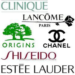 Еstee Lauder, Origins, Clinique, Lancome, Chanel, Shiseido. Только оригинал.