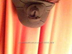 Шляпка шоколадного цвета, шерсть, новая