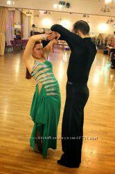 Шикарное платье для спортивных бальных танцев латина