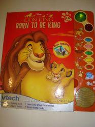 Книги Vtech-учим английский легко, Король Лев интерактивная книга на англ