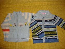Шерстяные вещи на два-три года р 80-92 кофта, свитер, жилетка