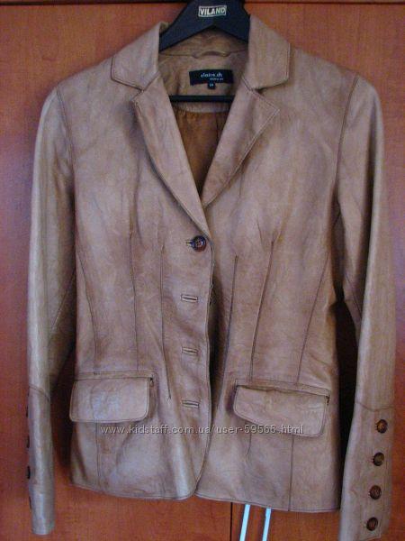 куртка кожанная, 34 размер, новая,