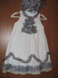Нарядное праздничное платье для принцессы  подарок