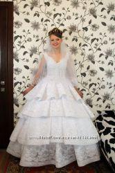 Эксклюзивное свадебное платье. Ручная работа.