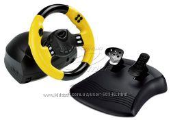 Руль Genius Speed Wheel RV Vibration USB .