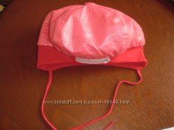 шапочка-беретик ТМ DavidsStar - 52 размер, ало-красная