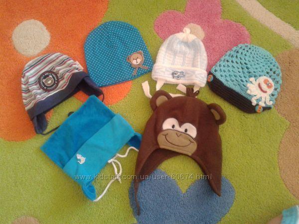 Много шапочек мальчику от рождения