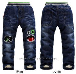 Детские утепленые штанишки
