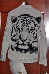 Рубашка с тигром р. 48