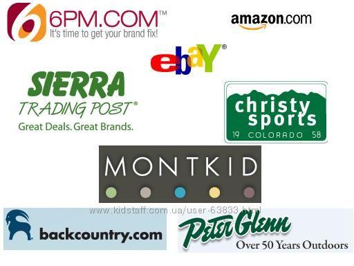 Посредник США 6pm Crocs Zappos Ebags и универмаги Amazon Ebay Walmart