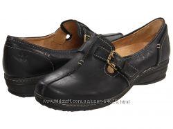удобные и легкие, полностью кожаные туфельки Naturalizer на узкую ногу