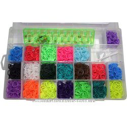 Наборы для плетения цветными резинками LOOM BANDS