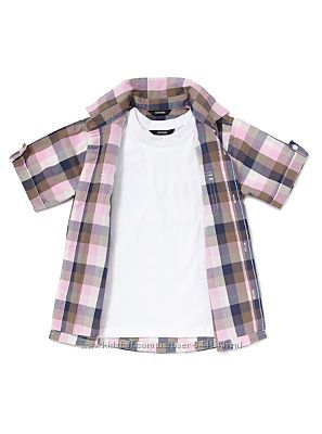 Комплект рубаха и футболка,  George