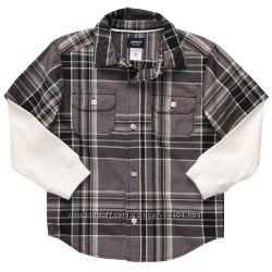 Рубахи Carters для мальчиков, размеры 6, 7