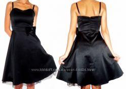 Little black dress. Вечернее платье на дюймовочку