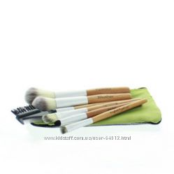 Кисти для макияжа, бамбук, США. I ON BEAUTY 7-PIECE TRAVEL SET.