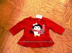 Одёжка для новорождённой принцессы Childrens Place, Carters. 0 - 3 мес.