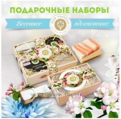 Новогодн наборы от Крымского мыла. Новинка - набор с сортами винного мыла.