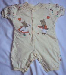 пижамка, комбинезоны, распашонка и ползуны