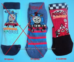 Носки мальчикам Паровозик Томас на 1, 5-3 года