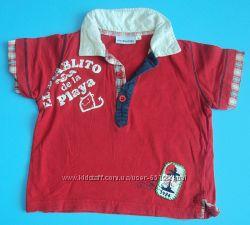 футболки, регланы мальчишкам на 6-12 месяцев
