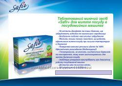 Бесфосф. таблетки, соль, ополаскиватель для посудомойки Сафир Safir