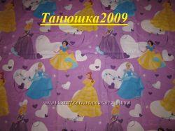 Детские постельные комплекты для любителей Тачек, Принцесс, Винни пуха