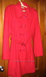 Пальто , полушерсть, размер 38