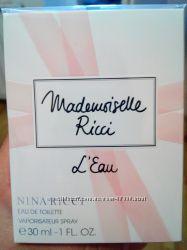Nina Ricci аромат Mademoiselle Ricci LEau оригинал