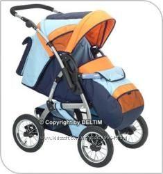 Детская коляска трансформер Deltim Voyager Ligero